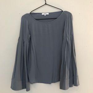Ro & De bell sleeve blouse